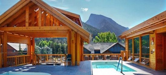 £129 & up -- 4-Star Banff Stay with $25 Spa Credit