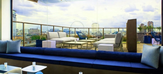 London - Rooftop City Views near the South Bank at the H10 London Waterloo 4*