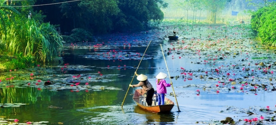 Southeast Asia / Vietnam & Cambodia - Cultural Adventures in Southeast Asia at the Romantic Private Vietnam Tour & Cambodia Extension