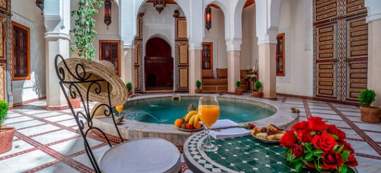 Unique & Relaxing Traditional Riad at the Safran et Cannelle Riad & Spa