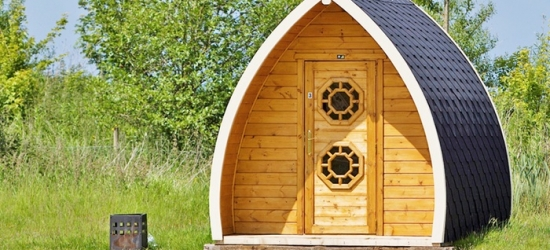 Lancashire: Camping Pod for Two Adults and Two Children at Stanley Villa Farm Camping