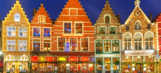 Bruges: One day Christmas market coach trip with return cross channel ferry