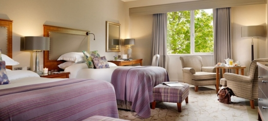 Co. Wicklow: 1 Night for Two with Breakfast, Golf or Spa Credit and Dinner Credit at 5* Druids Glen Hotel & Golf Resort