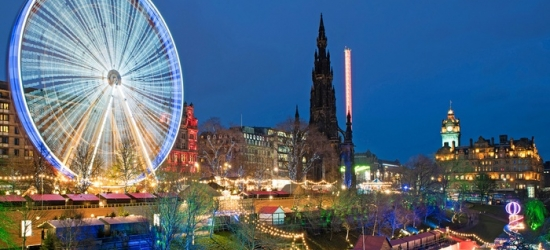 Edinburgh: 1 or 2 Nights for Two with Breakfast and Option for Prosecco at Edinburgh Thistle Hotel