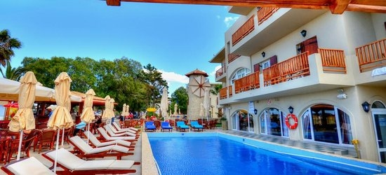 7 nights at the 4* Kalyves Beach, Kalyves, Crete