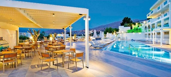 7 nights at the 4* Lindos White Hotel & Suites, Lindos, Rhodes