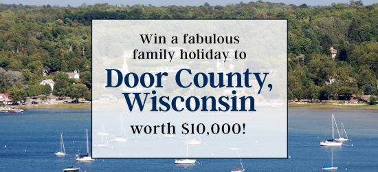 Win a 7-night family trip to Wisconsin