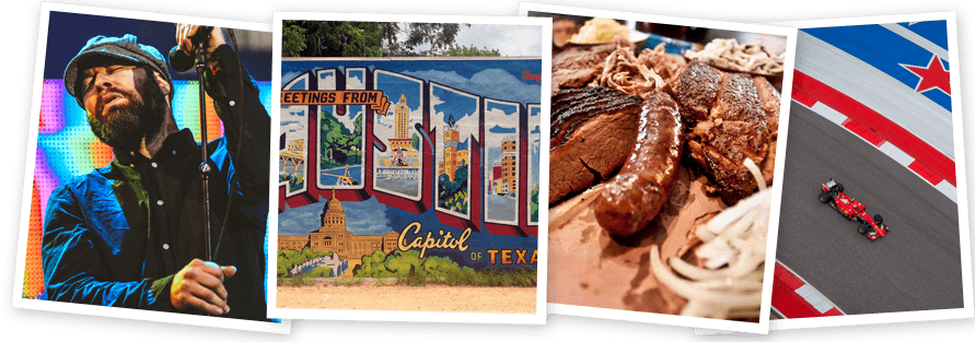 Win a holiday for two to Austin, Texas