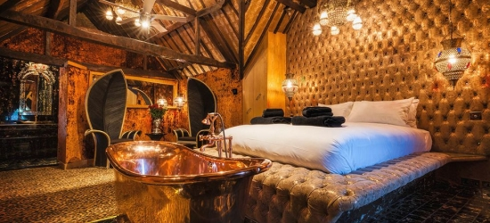 Win an opulent stay for two at a Crazy Bear hotel worth £250