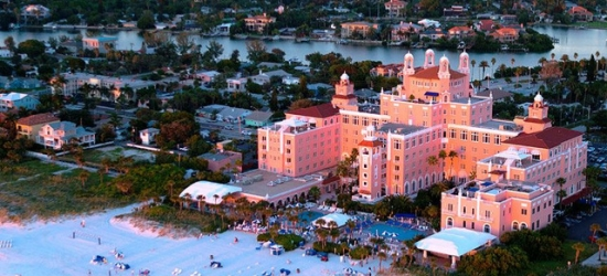 £181 per night | Legendary luxury hotel on Florida's St. Pete Beach, The Don CeSar, St. Pete Beach