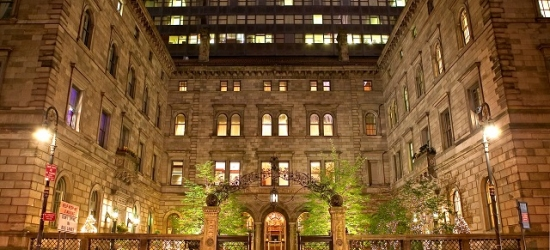 £189 per room per night | Magnificent luxury hotel on Madison Avenue, Lotte New York Palace, Midtown, New York