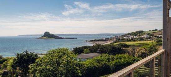 £107 per room per night | Idyllic Cornish retreat overlooking St Michael's Mount, Mount Haven Hotel, Cornwall