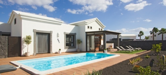 Relaxing Lanzarote holiday with a private pool villa