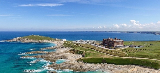 £132 per room per night | Grand hotel & cottages on the Newquay coast, The Headland, Cornwall