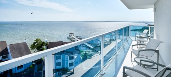 £61 & up --Maryland: Waterfront Stay in Ocean City, 40% Off