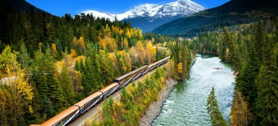 Canada - Breathtaking scenery & spectacular parks aboard the Rocky Mountaineer train