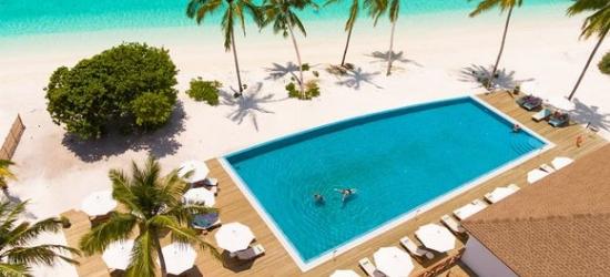 Jewel of Greenery on Azure Waters at the Reethi Faru Island Resort 4* Sup
