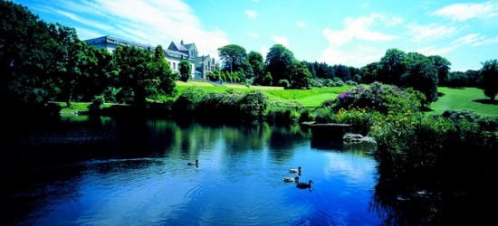 Cheshire: Standard Twin/Double or Deluxe Room for Two with Breakfast, Dinner and Optional Spa at 4* Shrigley Hall Hotel