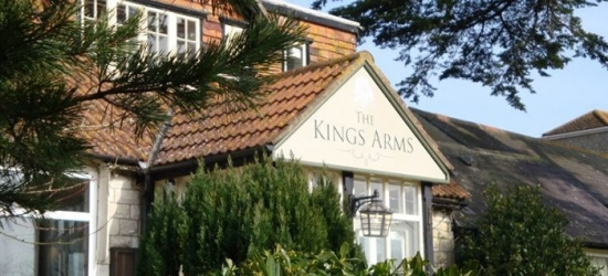 Dorset: 1 or 2 Nights for Two with Breakfast and Optional Dinner at The Kings Arms