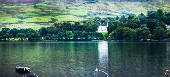 Loch Earn: Loch Earn: Standard Double Room with Full Scottish Breakfast at Clachan Cottage Hotel