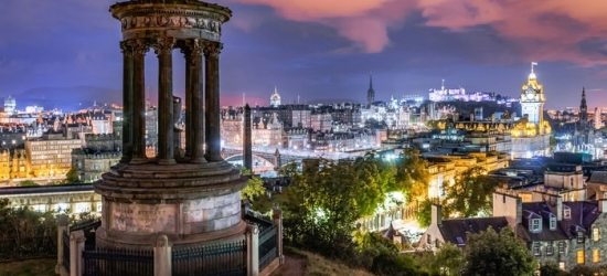 Edinburgh: 1 or 2 Nights for Two with Breakfast, Tasting Menu and Champagne at 4* No 11