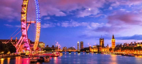 1-2nt 4* London & Attraction - Zoo, Ghost Bus, The Shard & More!