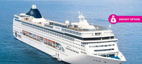 8nt Full-Board Mediterranean Cruise, Marseille Hotel Stay
