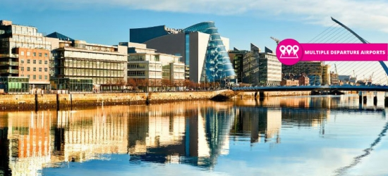 2nt Dublin Getaway, Flights & Guinness Storehouse Tour