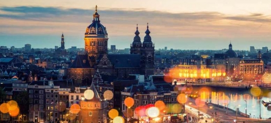 4-6nt Amsterdam & Berlin City Getaway with Flights
