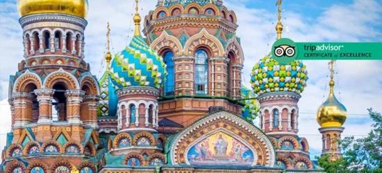 3-7nt St Petersburg Getaway, Breakfast  - Optional Tour!
