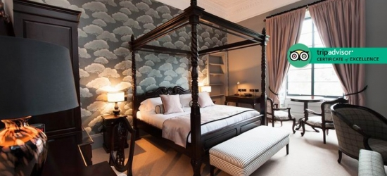 4* Boutique Stay & Bubbly for 2 @ No.11 Edinburgh - Dining Option!
