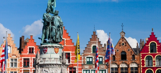 1-3nt 4* Bruges City Break, Breakfast & Eurostar - Tour Options!