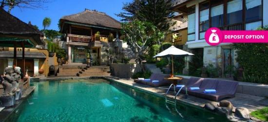 10nt Bali & Ubud Trip, B'fast  – Award-Winning Hotels!