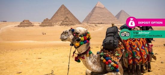 5-7nt Cairo Break, River Cruise, B'fast  – Optional Tour!
