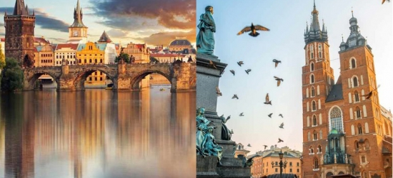 4-6nt Prague & Krakow Getaway, Flights & Transfers