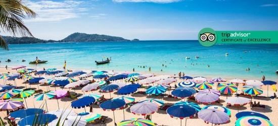 7nt 4* Phuket Deluxe Beach Break, Breakfast, Massage