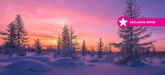 2-7nt 4* Lapland Break with Breakfast, Flights and Optional Tours