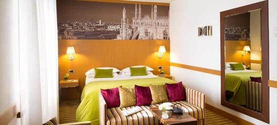 3 nights at the 4* Starhotel Tourist, Milan, Lombardy