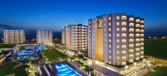 7 nights at the 4* Grand Park Lara, Lara Beach, Antalya