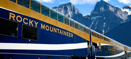 Win a 14-night rail, coach & cruise holiday to the Canadian Rockies