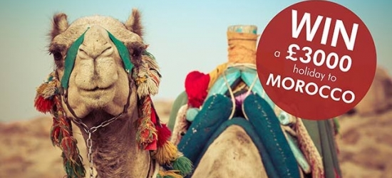 Win a holiday to Morocco worth £3,000