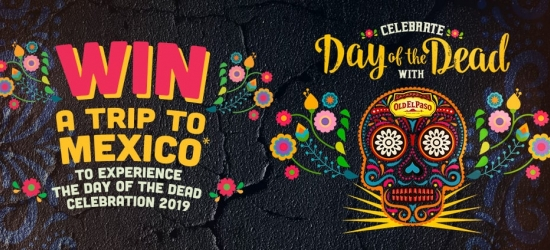 Win a trip to Mexico for Day of the Dead (£6,000 Thomas Cook vouchers)