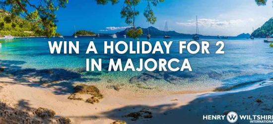 Win a break for two in Majorca