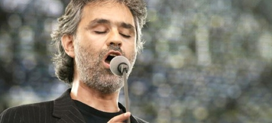 Win a musical trip to Tuscany to see Andrea Bocelli perform live