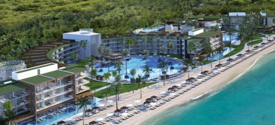 Cancun adults-only getaway with a swim-out suite