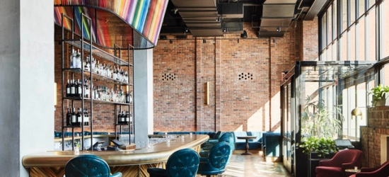 £164 per night | Modern, design-led Williamsburg base, The Williamsburg Hotel, New York