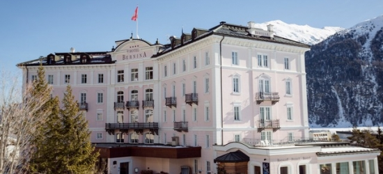 £145 per night | St Moritz stay at a historic spa hotel, Hotel Bernina 1865, Switzerland