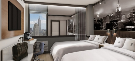 £173 per night | Sleek and modern new Times Square base, Hotel Aliz Times Square, Midtown, New York