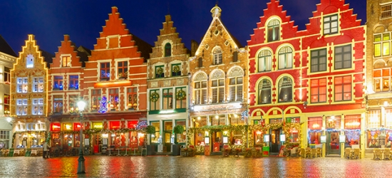 Chic central Bruges break with Christmas market dates, Hotel Montanus, Belgium