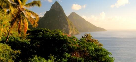 Brand-new boutique St Lucia escape on a scenic marina, Bay Gardens Marina Haven, Caribbean